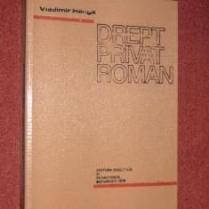 Drept privat roman - Vladimir Hanga - 1978
