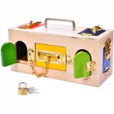 Cutie Montessori cu incuietori - Lock Box, Oem