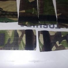 8 bucati Epoleti militari cu grade militare Camuflaj+1 piesa,Efecte,T.GRATUIT