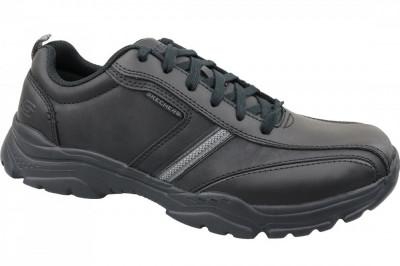 Incaltaminte sneakers Skechers Rovato 65419-BBK pentru Barbati foto