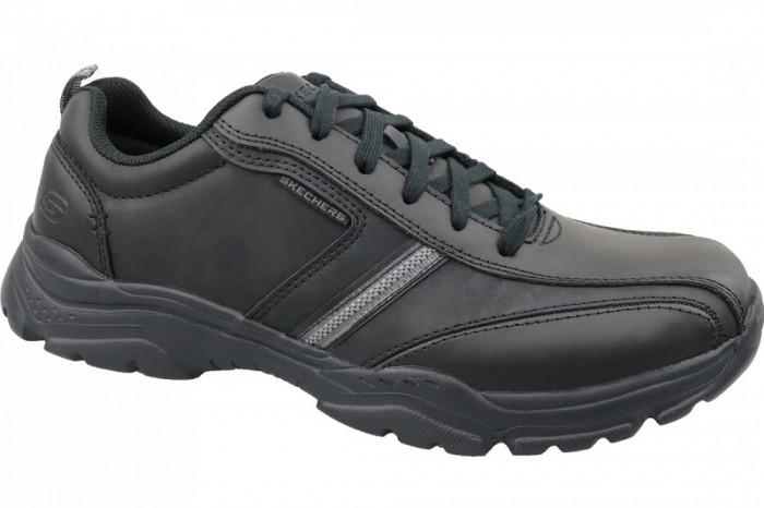 Incaltaminte sneakers Skechers Rovato 65419-BBK pentru Barbati