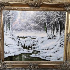 Tablou Peisaj de Iarna Neogrady Laszlo (1896-1962)