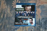 Film - Lone Survivor / The Expendables 3 / Self Less [3 Filme Blu-Ray]
