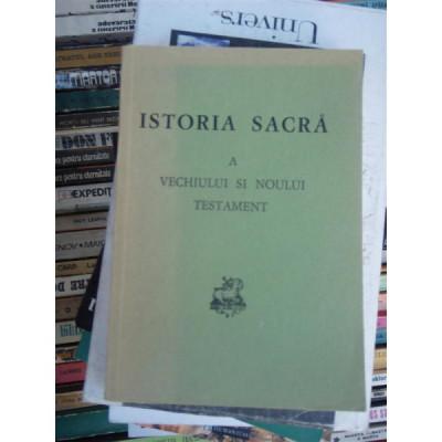 ISTORIA SACRA A VECHIULUI SI NOULUI TESTAMENT , J. SCHUSTER foto