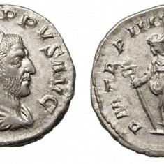 Moneda argint Roma Imperiala -Imparatul Filip Arabul (198-249)