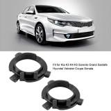 Set 2 adaptoare becuri LED H7, KIA, Hyundai,