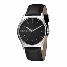 Ceas de mana barbati Esprit Essential Black and Silver Tone