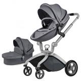 Carucior Hot Mom Premium Dark Grey 2 in 1