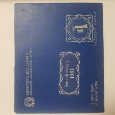 Serie de monede 1981 Italia