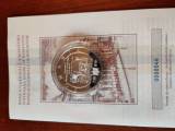 Moneda proof 140 de ani Societatea culturala macedo-romana