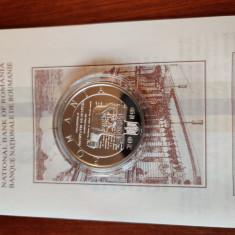 Moneda proof 140 de ani Societatea culturala macedo-romana