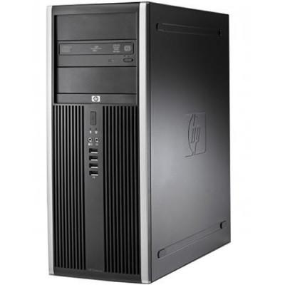 Calculator HP 8000 Elite Tower, Intel Core2Quad Q9300 2.50 GHz, 4GB DDR3, 250GB HDD, DVD-RW, Windows 10 Pro Refurbished Preinstalat foto