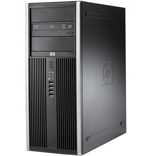 Calculator HP 8000 Elite Tower, Intel Core2Quad Q9300 2.50 GHz, 4GB DDR3, 250GB HDD, DVD-RW, Windows 10 Pro Refurbished Preinstalat