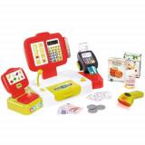 Jucarie Casa de Marcat Mini Shop Rosu cu Accesorii