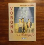 Constantin Rusu - VORONA. File de Monografie (cu autograf, 2003) - Ca noua!