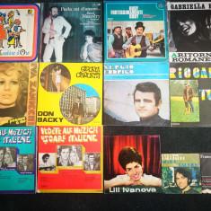 Discuri vinil muzica straina, italiana, italieneasca. Disc vinyl Italia.