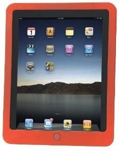 Husa tableta Manhattan iPad Slip-Fit Design Gravat Laser Rosu Albastru