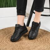 Pantofi Sport De Dama Atar Negri 38 EU Negru