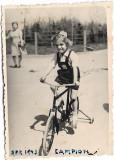 C1204 Copil cu bicicleta 1943 Romania