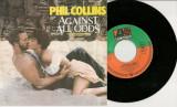 "Phil Collins - Against All Odds (1984, Atlantic) disc vinil single 7"""