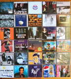 Set 34 maxi-single (M.Jackson, Beatles, Pet Shop Boys, Ozzy, Bee Gees)