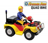 Jucarie Fireman Sam Quad Bike With Sam