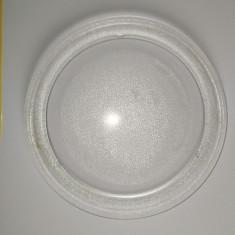 Farfurie cuptor cu microunde 245 mm, Universal