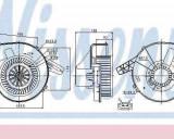 Ventilator habitaclu Aeroterma SKODA ROOMSTER (5J) NISSENS 87028