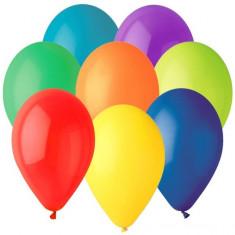 Baloane colorate asortate din latex standard 26cm set 50 buc