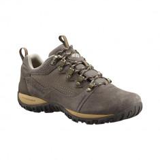 Pantofi Bărbați Outdoor Piele impermeabili Columbia Peakfreak Venture Low Suede WP Omni-TECH, 41, Maro