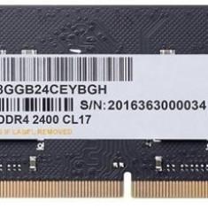 Memorie Apacer ES.04G2T.KFH, DDR4, 4GB, CL17, 2400MHz