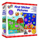 Primul meu set de stickere PlayLearn Toys, Galt