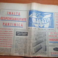 magazin 10 iulie 1971-art. orasul bucuresti,transfagarasanul cel mai inalt drum
