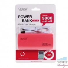 Acumulator Extern iPhone Samsung Huawei Allview Asus LG Power Bank 5000mAh Rosie