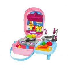 Set de joaca bucatarie in gentuta Painting Toy Bag