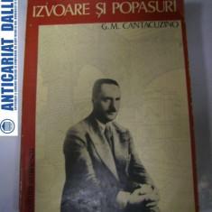 Izvoare si popasuri -G.M.Cantacuzino
