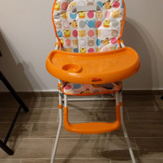Scaun de masa Bebe Portocaliu, Vanora, Vital Baby
