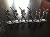 Lot 6 soldatei plumb soldati germani primul razboi mondial