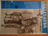 Revista Realitatea Ilustrata, 1934, regele Carol si printul Mihai