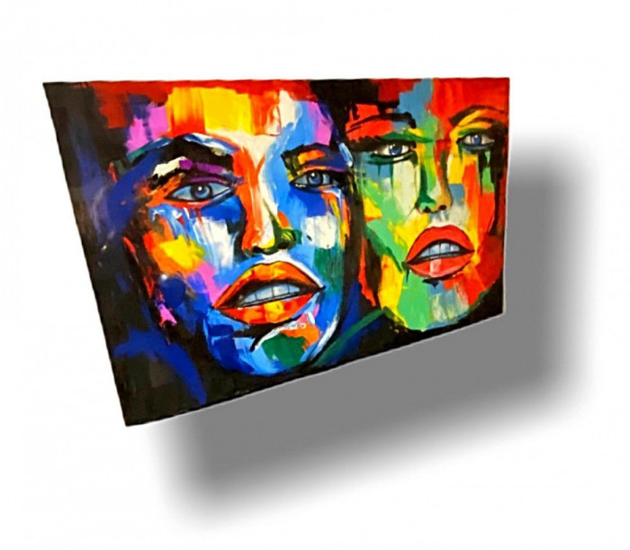 Tablou Rainbow Faces