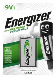 Acumulator Energizer 9V 175mAh Ni-Mh 6F22 1 Bucata / Set