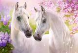 Puzzle Castorland - Romantic Horses 1.000 piese (104147)