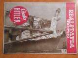 Revista Realitatea Ilustrata, 28 nov. 1934, Viata lui Hitler, impecabila