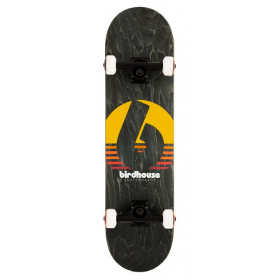 "Skateboard Birdhouse Stage 3 Sunset 31.5X8"" Black foto"