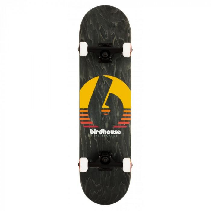 "Skateboard Birdhouse Stage 3 Sunset 31.5X8"" Black"