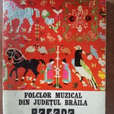 Folclor muzical din judetul Braila. Balada sau cintecul batrinesc- Ghizela Suliteanu
