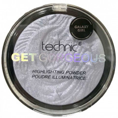 Iluminator Cu Particule Irizante Technic Get Gorgeous Highlighting Powder Galaxy Girl 12 gr