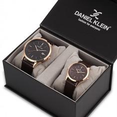 Set ceasuri pentru dama si barbati, Daniel Klein Pair, DK11787-5P