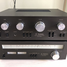 Technics Amplificator SU-7100K Tuner ST-7300K Statie Radio Vintage Rar