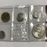 San Marino set 1, 2, 5, 10, 20, 50, 100, 200, 500, 1000 (argint) lire 1992